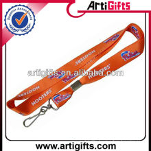 Custom logo nylon car key lanyards